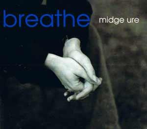 Midge Ure - Breathe - single cover