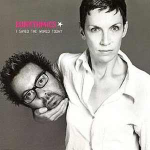 Eurythmics - I Saved the World Today - single cover