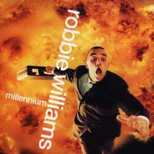 Robbie Williams - Millennium - Single Cover