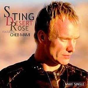Sting - Desert Rose - single cover