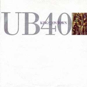 UB40 - Kingston Town - Single cover