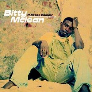 Bitty McLean - It Keeps Rainin' (Tears From My Eyes) - single cover