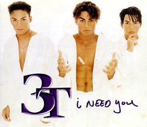 3T - I Need You - single cover