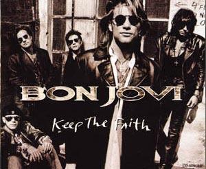 Bon Jovi - Keep The Faith - single cover