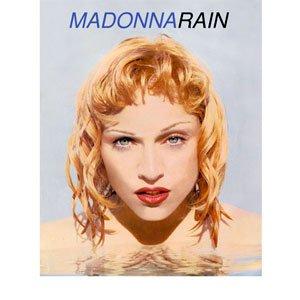 Madonna - Rain - single cover