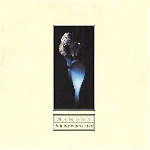 Sandra Cretu - Johnny Wanna Live - single cover